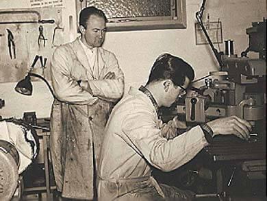 Gravør i Odense 1956